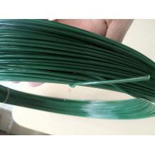 Alambre de hierro galvanizado revestido del PVC / alambre del lazo / alambre obligatorio