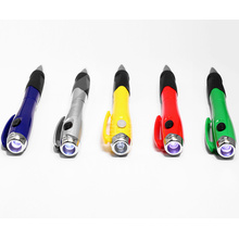 Portable Flashlight Pen Multicolor Pen