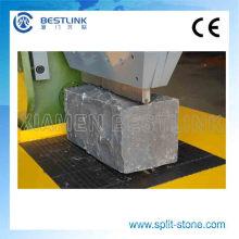 Máquina de división de piedra natural desigual para hacer piedras de adoquín