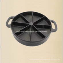 Preseaseoned Molde de molde de la cacerola de la galleta del molde de China