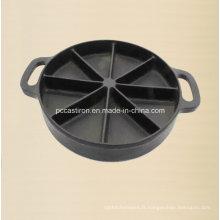 Preseaseoned Cast Iron Cake Pan Mold Fournisseur De Chine