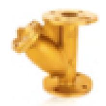 J603 Flang de latón Y-filtro / Filtro de latón / Filtro de brida / Válvula de filtro
