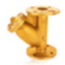 J603 Flang de bronze Y-filtro / Coador de bronze / Flange filtro / válvula de filtro