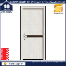 Kundenspezifische Größe Farbe Innen Holz PVC Melamin Holz Tür
