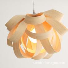 Special Wooden Pendant Lamp Modern Light for Home