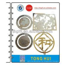 Metall-Lesezeichen mit allen Arten von dekorativen Muster