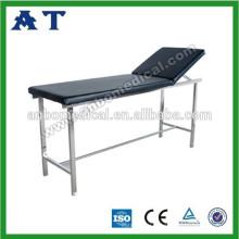 Table de massage en acier inoxydable