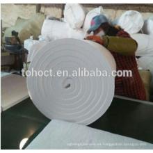 Horno refractario industrial con manta de fibra de cerámica