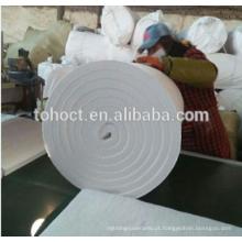 Cobertura de fibra cerâmica para forno refratário industrial