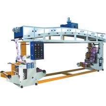 Machine de laminage de rouleaux de papier de film de corps de fonderie