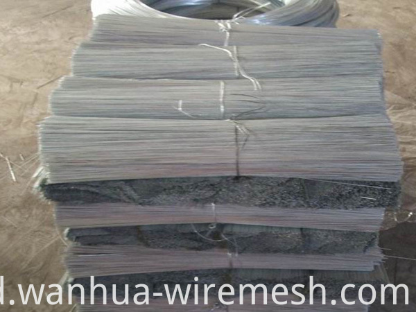 Low carbon steel electric galvanized Straight Cutting Wire (2)