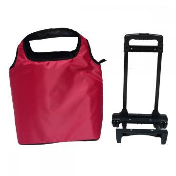 Sökülebilir arabası çanta alışveriş çantası tekerlekli