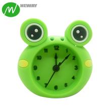 Pocket Mini Quartz Silicone Kids Alarm Clock