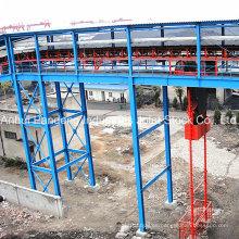 Sistema transportador / Transportador de cinta / Transportador de cinta para planta de cemento