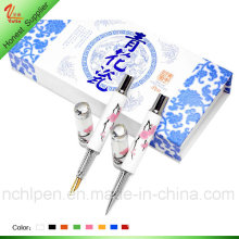 Latest Ceramic Plum Flower Pen for Souvenir Gift