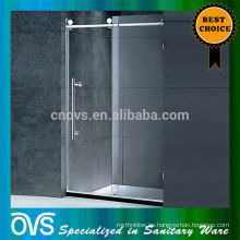 puerta plástica de la ducha de la puerta deslizante de la ducha