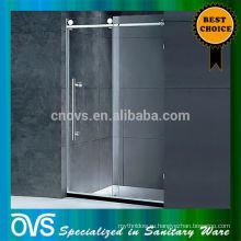 раздвижные душ двери ролик стеклянные душевые двери пластиковая прокладка уплотнения