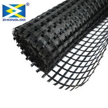 soil reinforcement / retaining wall uniaxial plastic geogrid basalt fiberglass geogrid/fiberglass and plastic