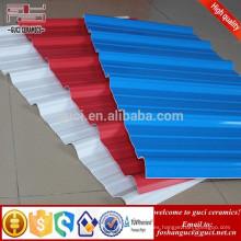 Las tejas al por mayor de UPVC cubren el aislante termal para el tejado de la fábrica