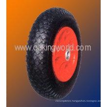 rubber wheel barrow