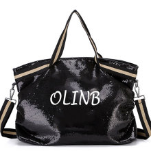 Fashion Holographic Glitter Sequin Shinny Tote Hand Bag