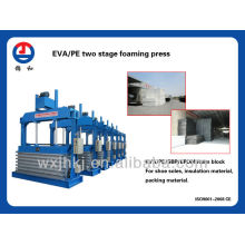 eva two stage foaming press