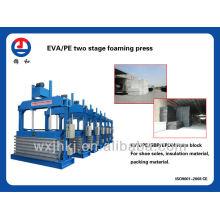 eva two stage foaming press