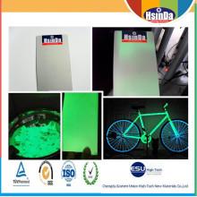 Термореактивный электростатический спрей-свечение в темно-порошковой окраске