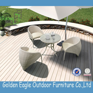 Garden Rattan Dining Table and Chairs