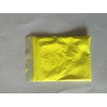 Polvo de pigmento fotoluminiscente con color amarillo