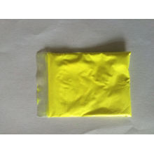 Photoluminescent Pigment Powder with Yellow Color