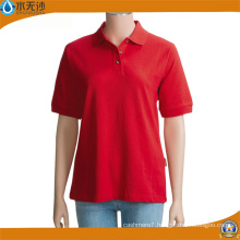 Wholesale Women Plain Polo Shirts Fitness Sport Polo Shirts
