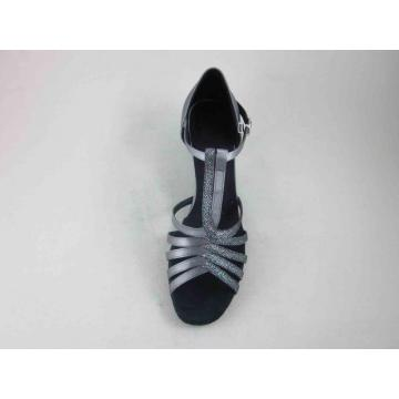 dames gris chaussures de danse satin france