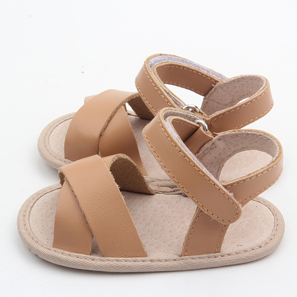 Leather Hard Sole Kids Sandal