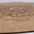 60cm/140cm/150cm Round Natural Rubber Cork Meditation Yoga matt