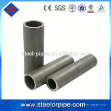 Astm a500 tubo de acero de precisión sin costura de fábrica
