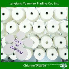 Tablette de dioxyde de chlore décolorante largement utilisée pour le blanchiment des textiles