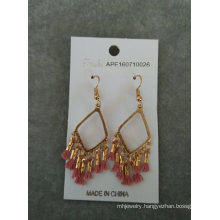 Bohemia Earrings with Seedbeads & Tassel