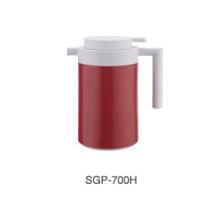 18/8 Edelstahl Kaffeekanne mit Glas Refill für Zuhause