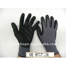 Nitrilbeschichtete Handschuhe
