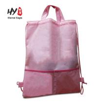 Outdoor travel reusable non woven backpack