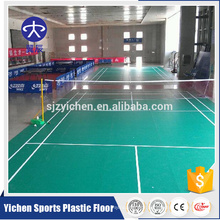 Free sample best sports badminton floor mat