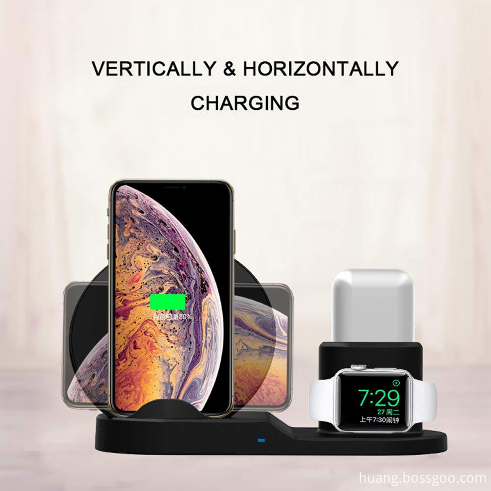 Fast Wireless Charger Station