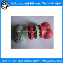 Custom Color Made 12 * 3.5cm Soft Rubber Tires Pet Toy pour chien