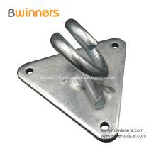 Dreieckiger Ankerwandhaken Glasfaserkabel-Zubehör