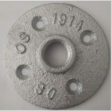 strong product 1/2 galvanized iron floor flange