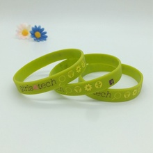 Customized Silicone Wristbands with Professional Design