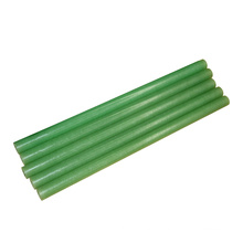 Customized green color screw thread class H Epoxy Glass winding tube