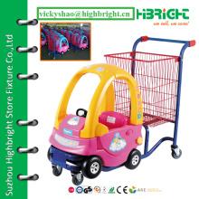 Carrinho de compras barato para crianças, carrinho de compras pessoal, carrinho de cadeira de brinquedo para bebê