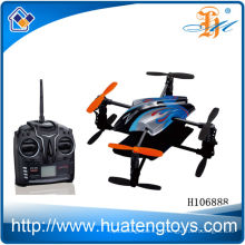 2014 Atacado 2.4 G 4 channal rc helicóptero quadcopter kit H106888